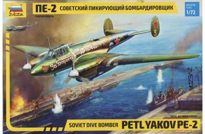 1/72 Soviet dive bomber Petlyakov Pe-2