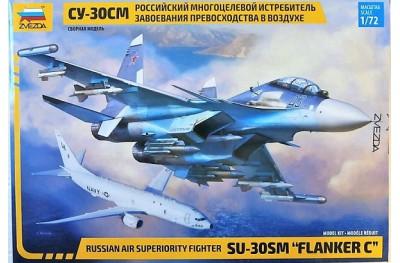 1/72 Su-30SM Flanker C