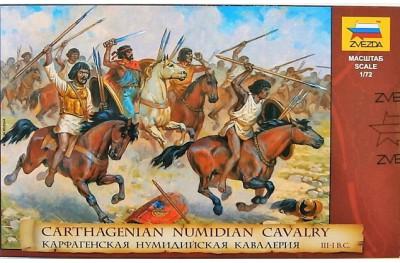 1/72 Carthagenian numdian cavalry