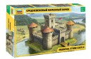 1/72 Medieval stone castle