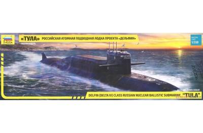 1/350 Russian Tula Nuclear Ballistic Submarine