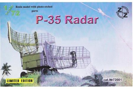 1/72 P-35 Radar (Full resin kit w/ photo etched parts)