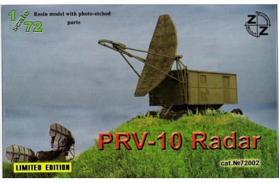 1/72 PRV-10 Radar (Full resin kit w/ photo etched parts)