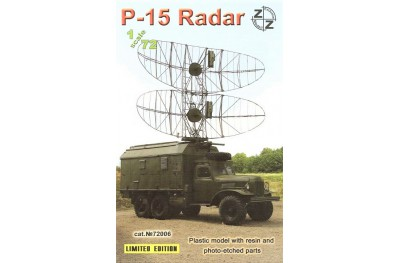1/72 P-15 Radar (Plastic kit w/ photo etched parts)