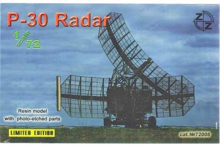 1/72 P-30 Radar (Full resin kit w/ photo etched parts)