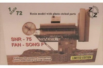 1/72 SNR-75 Radar Fan Song (Full resin kit w/ photo etched parts)